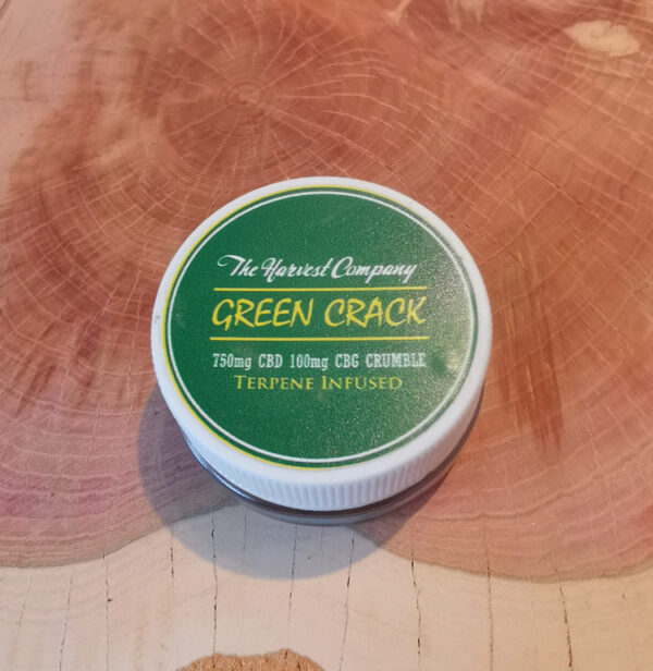 The Harvest Company 750mg Crumble Green Crack 1.0 Gr.