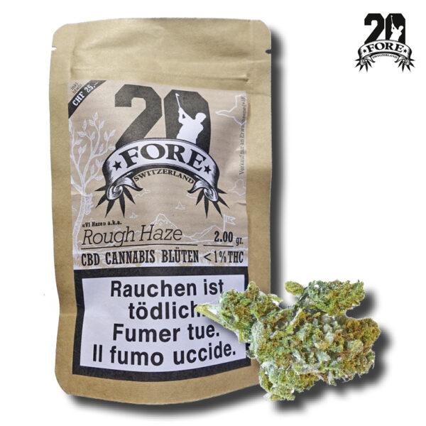CBD Cannabis FORE20 ROugh Haze 4.2Gr.